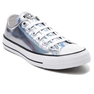 Converse Holographic Sneakers - Girl's Size 2